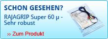 Druckverschlussbeutel RAJAGRIP Super 60 µ