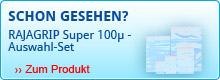 500 Druckverschlussbeutel RAJAGRIP Super 100μ