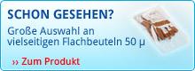 Flachbeutel 50 μ