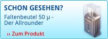 Faltenbeutel 50 μ