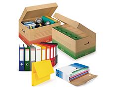 Verpackung für Umzug und Archivierung