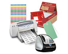 Dokumententaschen, Etiketten, Kennzeichnung