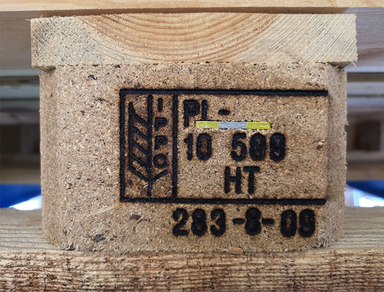 Holzpalette exportgeeignet