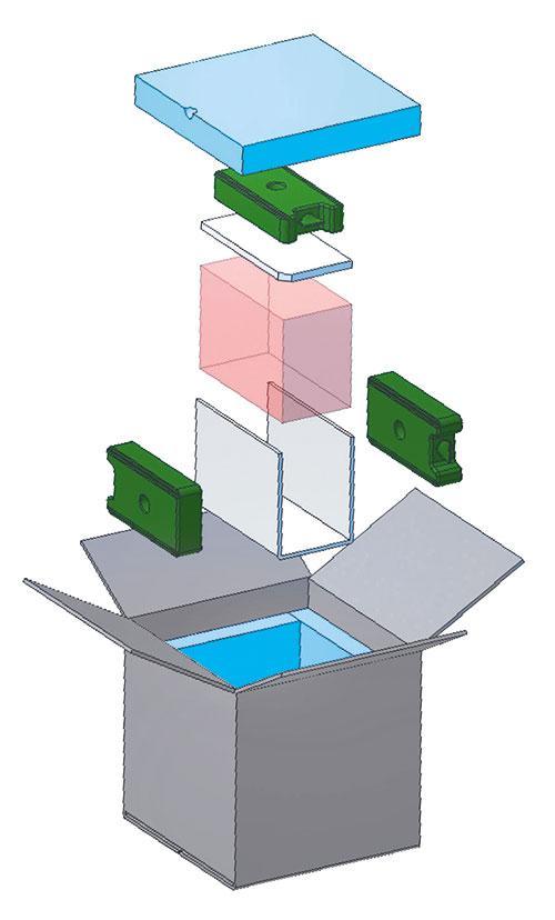 Aufbau Isolierbox