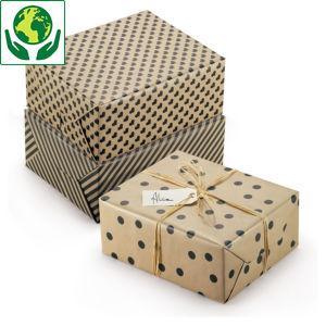 Geschenkpapier Recycling