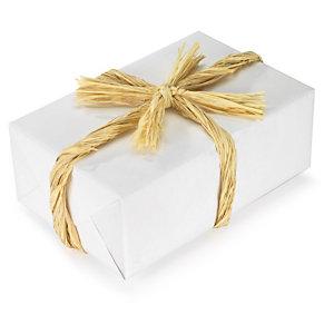geschenkband aus naturfasern