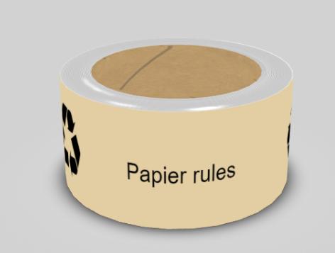Papier-Packband bedruckt